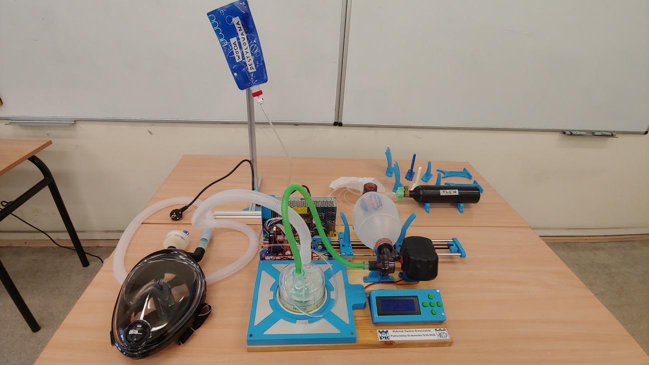 Respirator z PK