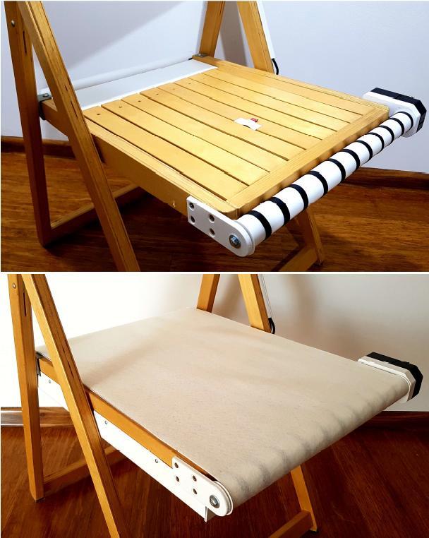Genialny wynalazek studentki politechniki. Zaprojektowała krzesło do walki z COVID-19 i nie tylko